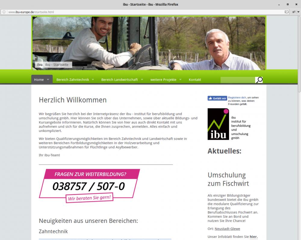 3dbec0860becc7 Moderner Internetauftritt für kleine und mittelständische Unternehmen