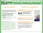 mv-soft: PSV Schwerin Abt. Volleyball